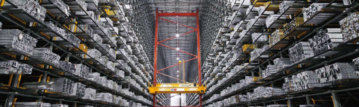 Honeycomb warehousing system
